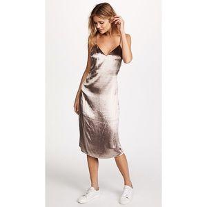 • Rag & Bone Silk Parker Velvet Dress •